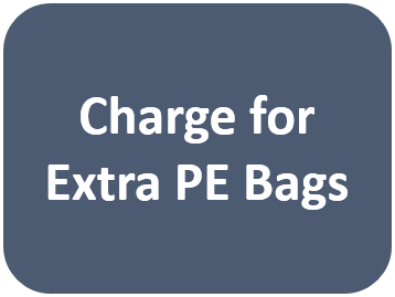 Charge for Extra PE Bags