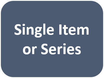 Single item or Series